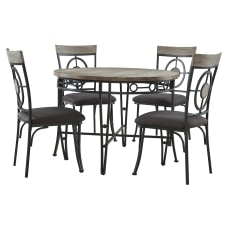 Powell Mosley 5 Piece Dining Set