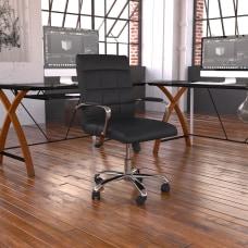 Flash Furniture Vinyl Mid Back Executive