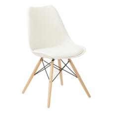 Ave Six Allen Guest Chair WhiteNatural