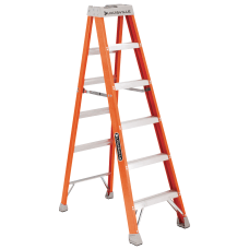 Louisville 4 Fiberglass Step Ladder 3