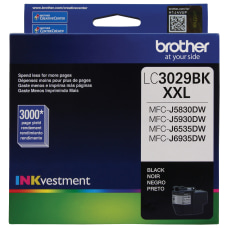 Brother LC3029BKS Extra High Yield Black