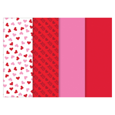 Amscan Valentines Day Printed Tissue Paper