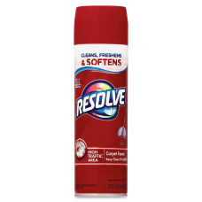 Resolve Foaming Aerosol Carpet Cleaner Spray
