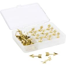 U Brands Metal Arrow Push Pins