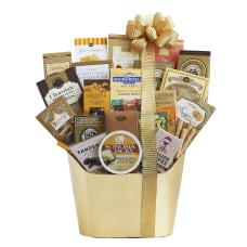 Givens Golden Holiday Gourmet Basket