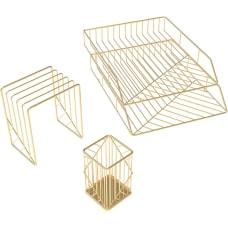 U Brands Metal Desk Organization Kit