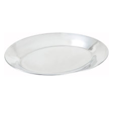 Winco 10 Sizzling Platter Silver