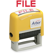 SKILCRAFT Pre Inked Message Stamp FILE