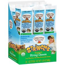 Organic Valley String Cheese 1 Oz