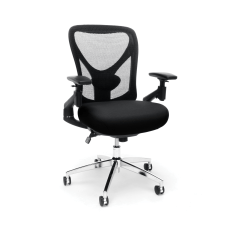 OFM Stratus High Back Chair BlackChrome