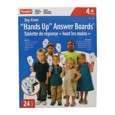 Roylco Hands Up Dry Erase Answer