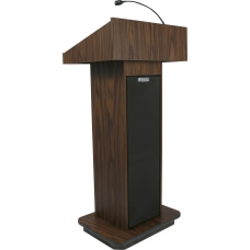 AmpliVox S505 Executive Sound Column Lectern
