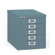 Bisley 5 Drawer Steel Cabinet 13