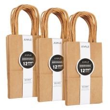 36 Count Brown Kraft Bags Paper