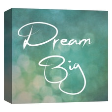 PTM Images Framed Art Dream Big