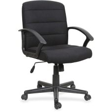 Lorell Soho Fabric Task Chair Black