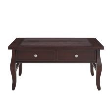 Linon Harlan 2 Drawer Coffee Table