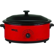 Nesco 6 Qt Red Roaster with