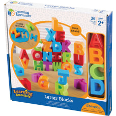 Learning Resources Letter Blocks ThemeSubject Learning