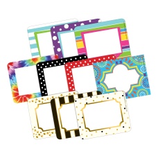 Barker Creek Curated Collection Name Tags