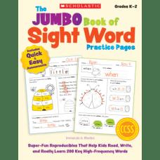 Scholastic The Jumbo Book Of Sight