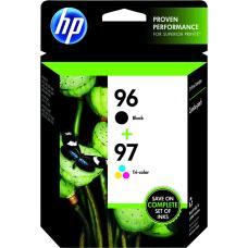 HP 9697 BlackTricolor Original Ink Cartridges