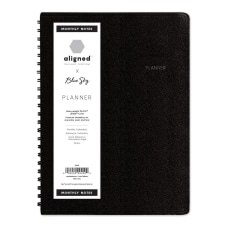Blue Sky Aligned PAJCO WeeklyMonthly Planner