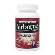 Airborne Immune Support Chewable Berry Supplement