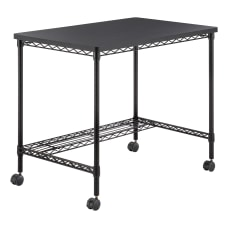 Safco 36 W Mobile Wire Desk