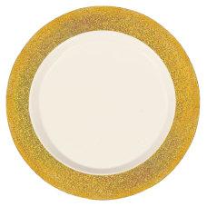 Amscan Premium Plastic Plates With Prismatic