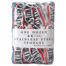 Kurly Kate Large Stainless Steel Sponges