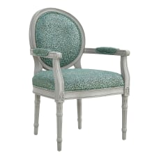Powell Blyth Accent Chair Light GraySilverGreen