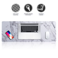 Long Mouse Pad Marble Design Extended