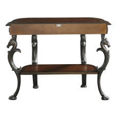 Powell Willett Demilune Console Table With