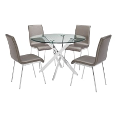 Powell Danvers 5 Piece Dining Set