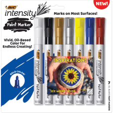 BIC Intensity Paint Markers Bullet Marker