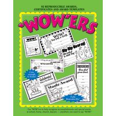 Barker Creek WOWers Reproducible Awards Book