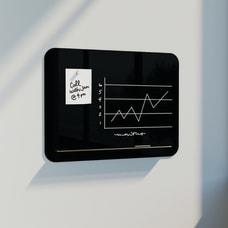 U Brands Magnetic Black Glass Dry