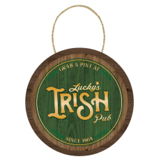 Amscan St Patricks Day Hanging Barrel