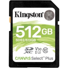 Kingston Canvas Select Plus 512 GB