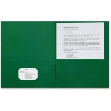 Sparco Leatherette Paper Portfolios 2 Pockets