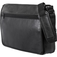 Bugatti Valentino Vegan Leather Messenger Bag