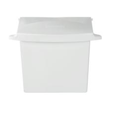 Rubbermaid Compact Sanitary Napkin Receptacle White
