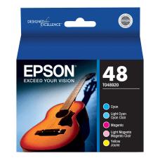 Epson T0489 T048920 Color Ink Cartridges