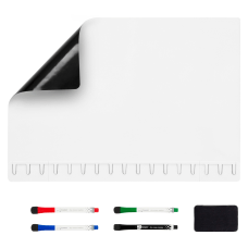 NoteTower Magnetic Dry Erase Whiteboard Refrigerator