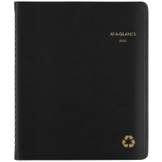 AT A GLANCE Recycled WeeklyMonthly Planner