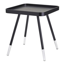 Adesso Blaine End Table Square 21