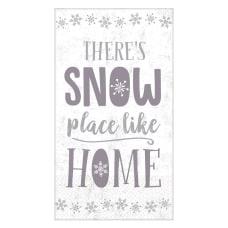 Amscan Christmas Snow Place Like Home