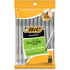 BIC Round Stic Ballpoint Pens Medium