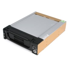 StarTechcom Black Aluminum 525in Rugged SATA